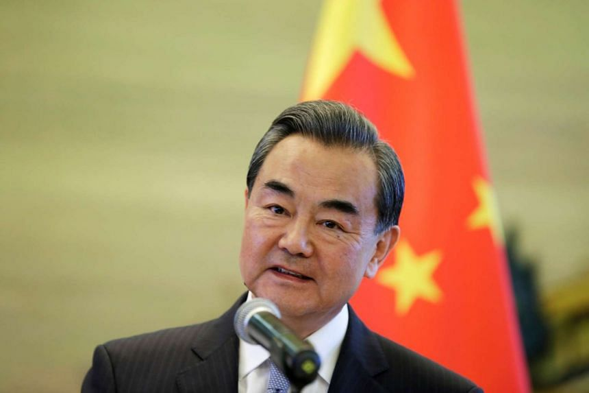 "China's Foreign Minister Wang Yi told his US counterpart John Kerry that China hopes the United States will abide by the ""one-China"" policy."