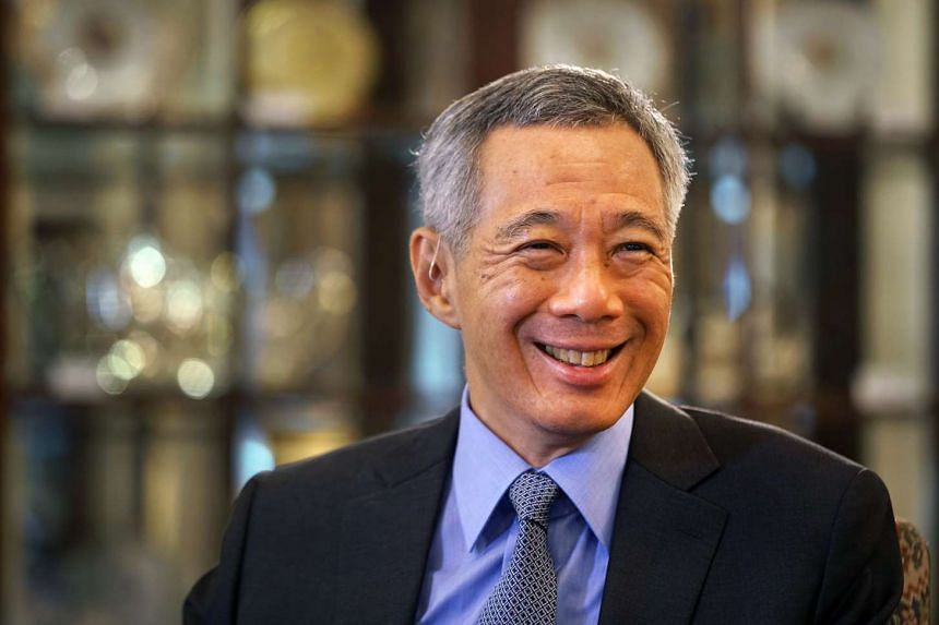 Prime Minister Lee Hsien Loong was interviewed by Mikhail Gusman from Russian News Agency TASS on May 14, 2016, at the Istana.