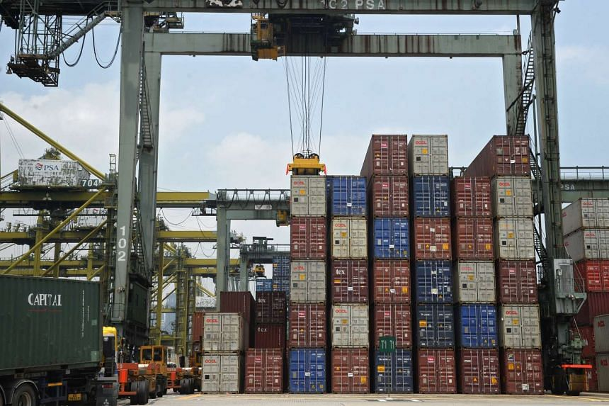 Non-oil domestic exports slid 7.9 per cent in April from a year earlier.