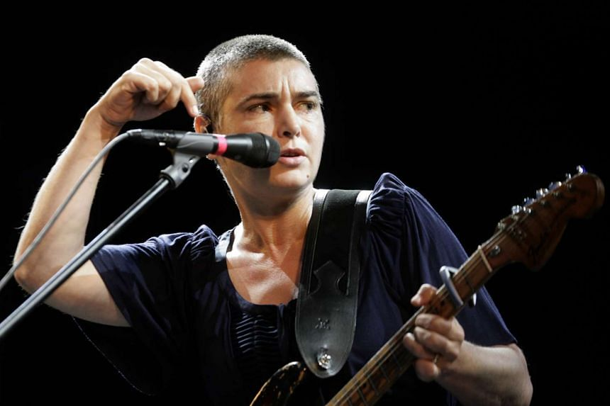 US police are searching for a missing Sinead O'Connor, who has been speaking about suicide lately.