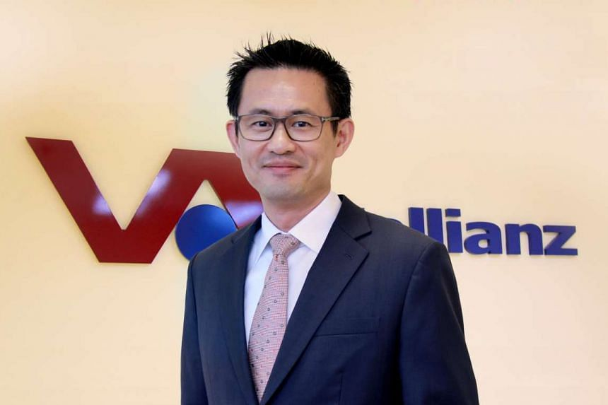 Vallianz Holdings CEO Mr Ling Yong Wah.