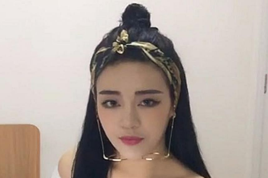 (From top) Ms Xu, who writes about make-up on WeChat and has 120,000 followers; Ms Jiang, who was paid 22 million yuan for an advertisement in one of her popular online comedy videos; and Ms Lu, a bar singer who hosts a livestream programme where she