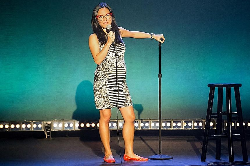 Ali Wong takes on subjects such as her Asian-American identity, infertility struggles and thoughts on feminism in Ali Wong: Baby Cobra.