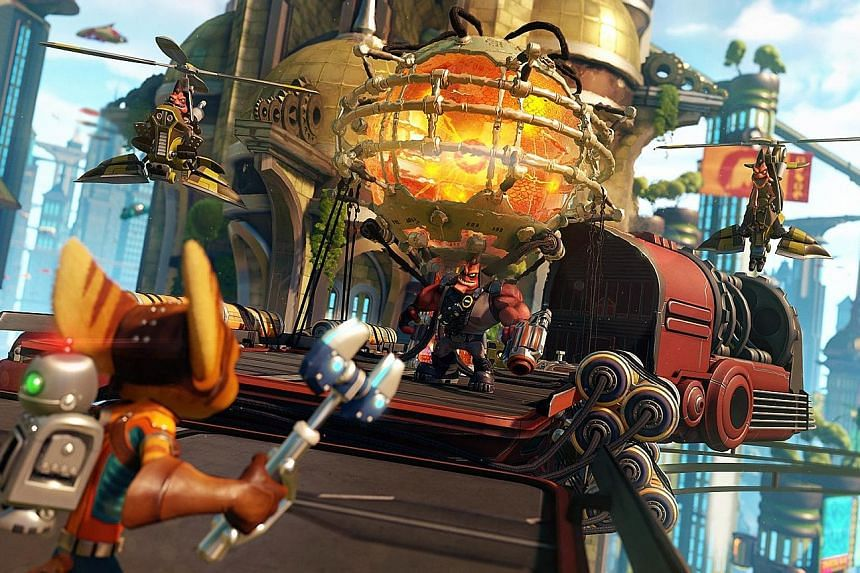 This remake of Ratchet & Clank is a must-play for all fans of the original series and 3-D platformers in general.