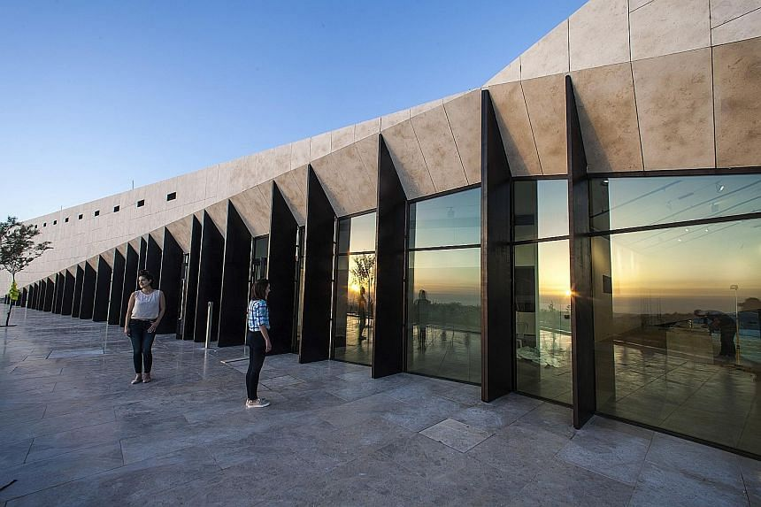 The $33 million Palestinian Museum will open today, with top dignitaries such as President Mahmoud Abbas of the Palestinian Authority expected to attend. A spokesman said the museum will be open to the public, free of charge, from June 1, even if the