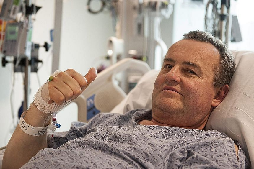 Mr Thomas Manning received a new penis from a donor after his own was removed in 2012 due to cancer. Doctors hope he will be able to regain full penile functionality within months.