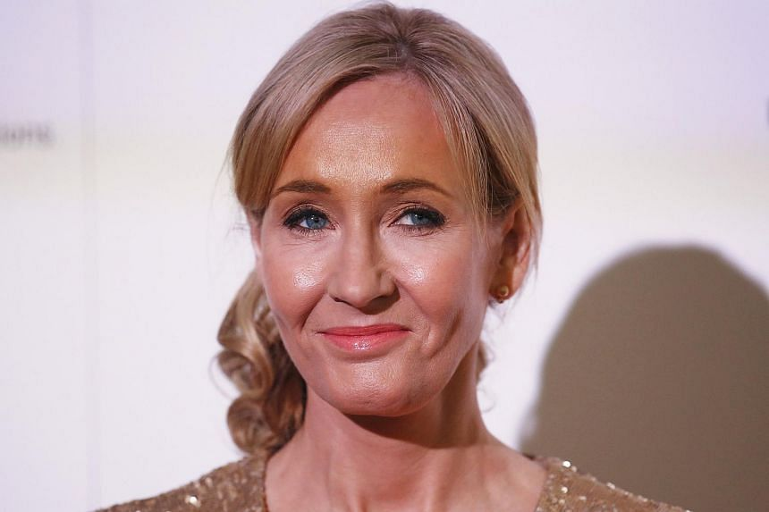 J.K. Rowling hosts a fundraising evening at the Warner Bros. Studio in London in this file photograph.