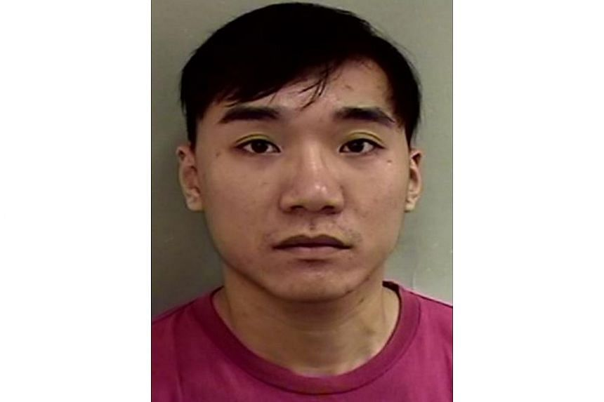 Soh Yuan Qing was sentenced to eight months' jail for an unprovoked attack on his ex-girlfriend's friend.