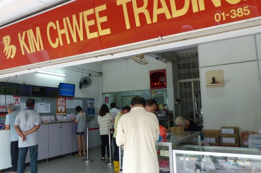 The winning ticket for the May 16 Toto draw was purchased at Kim Chwee Trading in Jurong East.