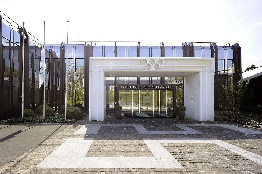 The International Olympic Committee headquarters in Lausanne, Switzerland.