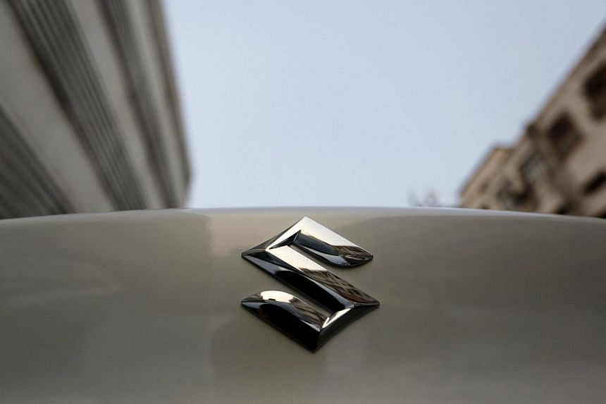 Shares of Suzuki Motor plunged after saying it found an improper method used to test the fuel efficiency of its vehicles.