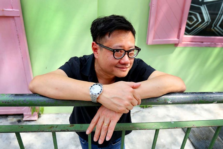 Eric Khoo, local film-maker.