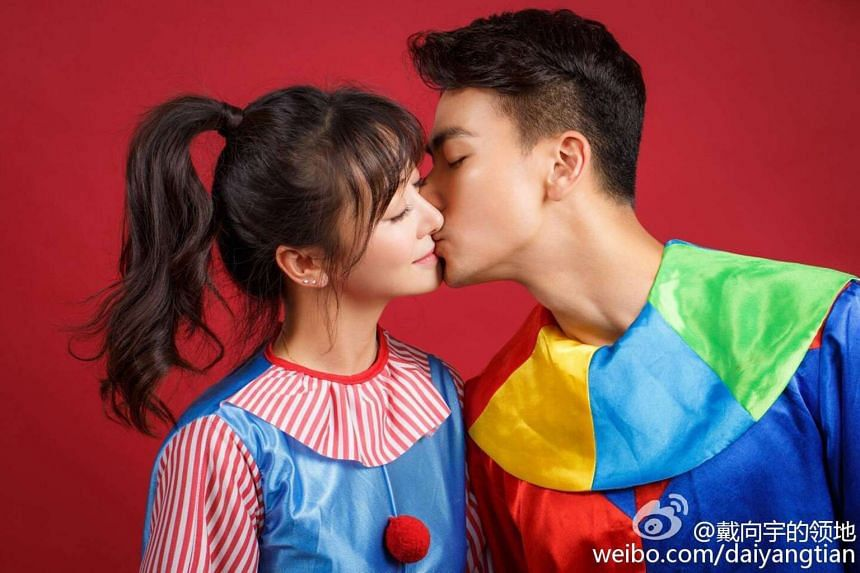 Dai Xiangyu, 31, and Chen Zihan, 38, will have their wedding in mainland China in December this year.