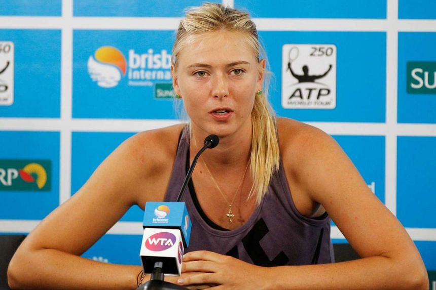 The president of the Russian tennis federation has said that Maria Sharapova may not play again after testing positive for meldonium.