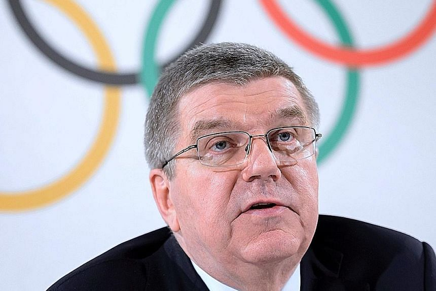 IOC boss Thomas Bach says retesting of samples from the 2008 and 2012 Games will prevent dozens of dope cheats from taking part in Rio in August.