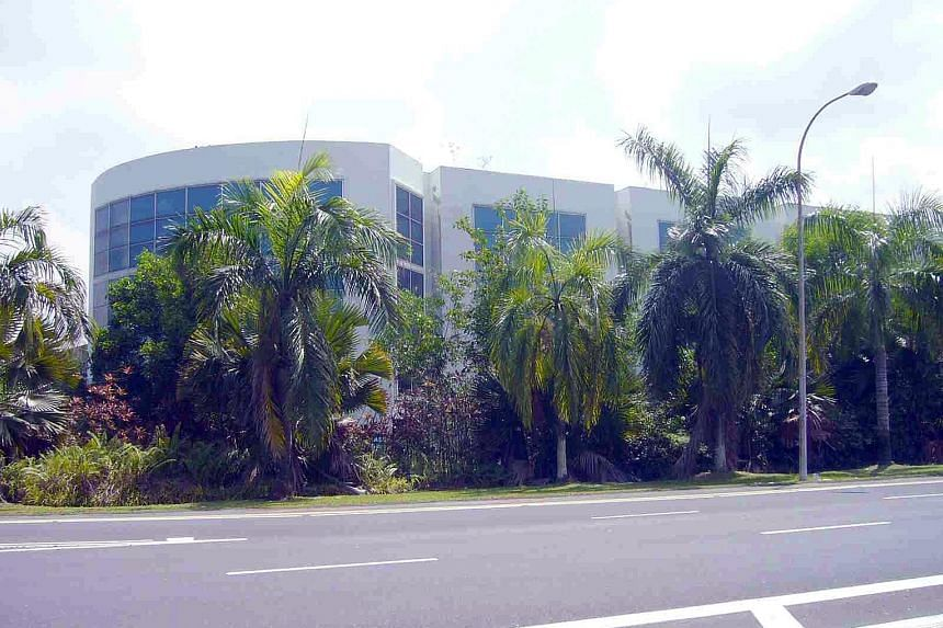 The three-storey detached factory in Pioneer Road was built by APP in the late 1990s. It has a remaining tenure of 39 years.