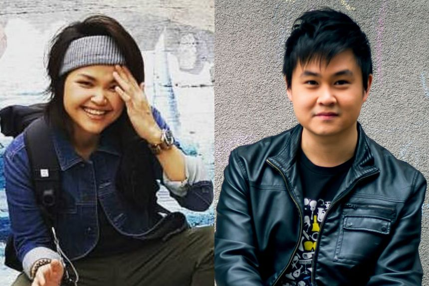 Olinda Cho (left) and Ng Chee Yang will be competing against 10 other singers for three spots to go to China for China Super Vocal.