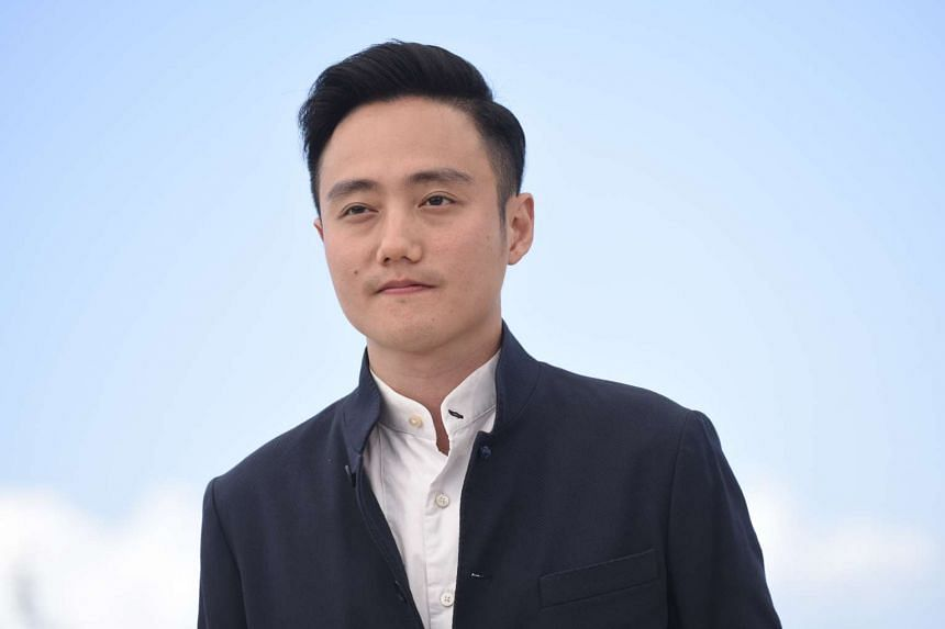 Boo Junfeng, director of Apprentice, at the photocall at the Cannes Film Festival.