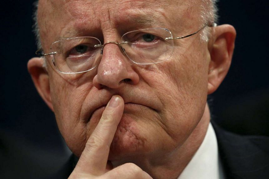 US National Intelligence director James Clapper did not provide details on specific intrusions..