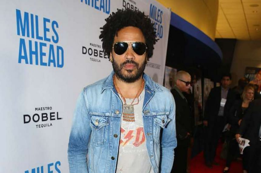 Lenny Kravitz (above) and Alice In Chains have been tapped as opening acts.