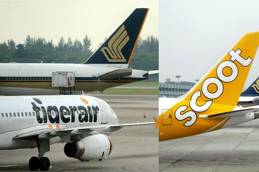 Operating Scoot and Tigerair as one will not lead to job cuts according to Singapore Airlines.