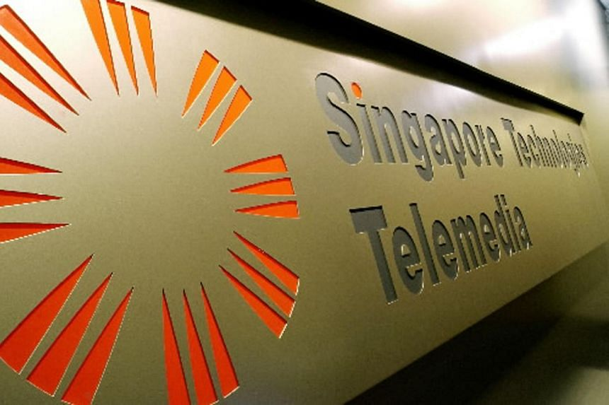 File photo of Singapore Technologies (ST) Telemedia's signboard. ST Telemedia partners Tata Communications to expand data centre business in India and Singapore.