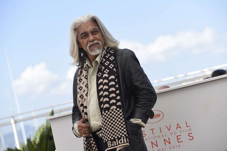 Actor Wan Hanafi Su at the photocall at the Cannes Film Festival.