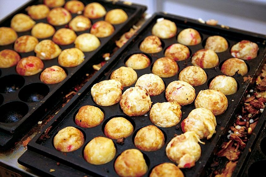 Japanese fare such as takoyaki at the Super Japan Matsuri are made by chefs from Japan.