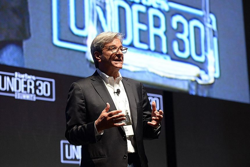 Mr Perlis, Forbes CEO, at the opening of the inaugural Forbes Under 30 Summit Asia yesterday.