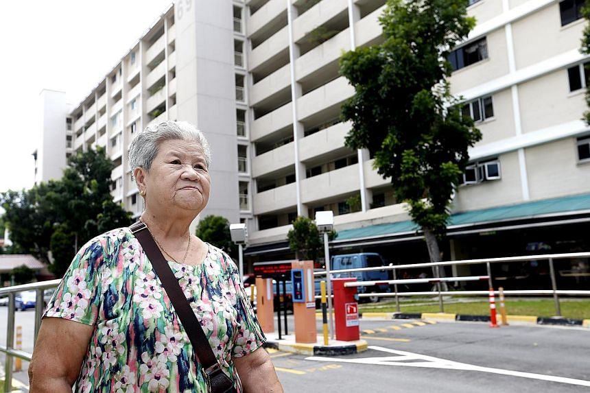Madam Tan says she paid more than $117,000 for the flat she has lived in for decades. She disputes her granddaughters' claim to it, saying that they were only holding it in trust for her. The property was bought in 1990 under her son's name, and his