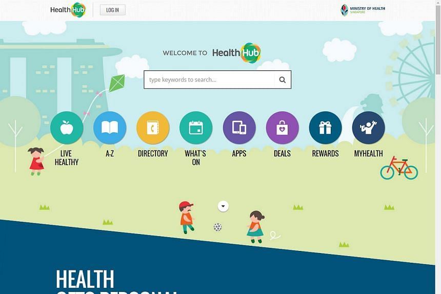 The HealthHub portal has allowed people to keep track of their medical records online since its launch in October last year. PHOTO: SCREENGRAB FROM HEALTHHUB WEBSITE