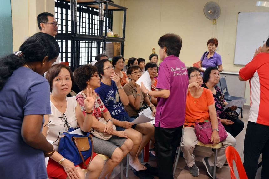 A vaccination drive was held to protect senior citizens against pneumococcal disease.