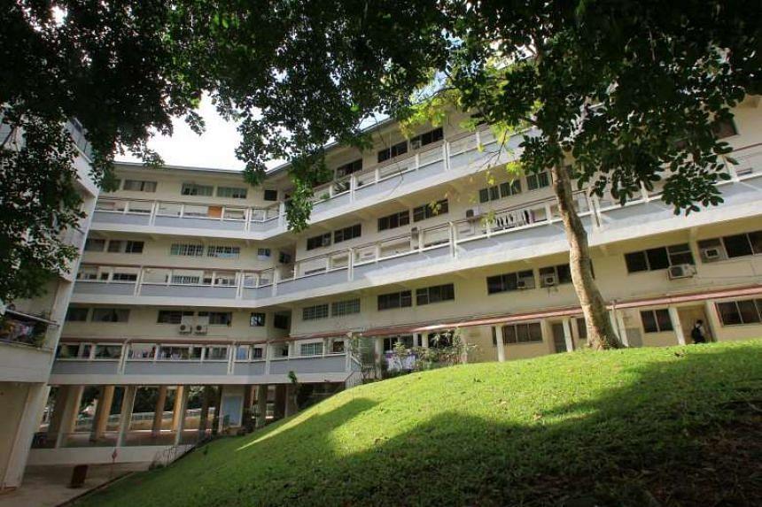 HUDC apartments at Block 316, Shunfu Ville.
