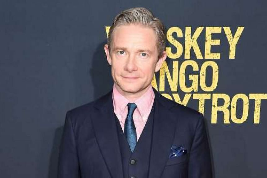 Martin Freeman (above) is the voice of Stick Man.