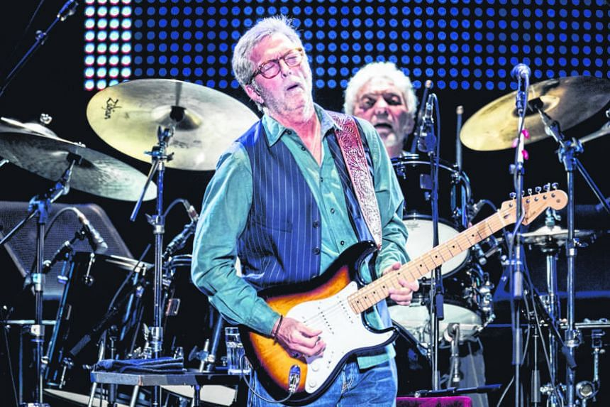 Eric Clapton is known for hits such as Lay Down Sally and Wonderful Tonight.