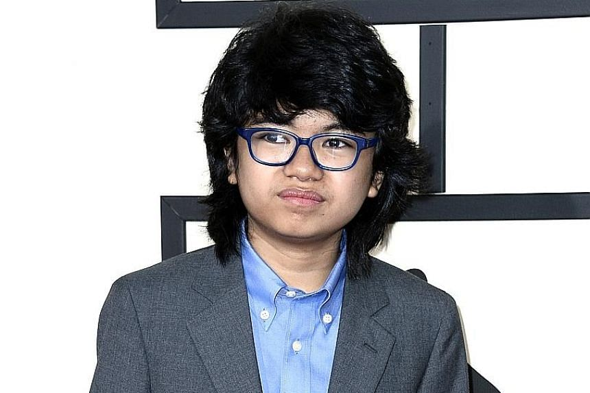 Joey Alexander arriving for the 58th annual Grammy Awards in Los Angeles in February. He was nominated in two categories at the ceremony, but did not win.