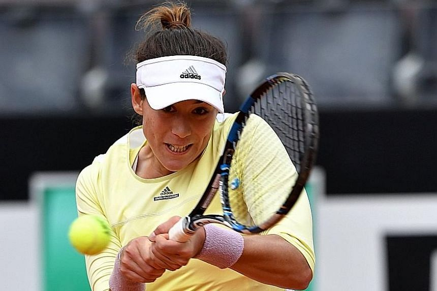 From top: Romania's Simona Halep, Spain's Garbine Muguruza and American Sloane Stephens are all tipped to impress at Roland Garros. The French Open begins tomorrow.