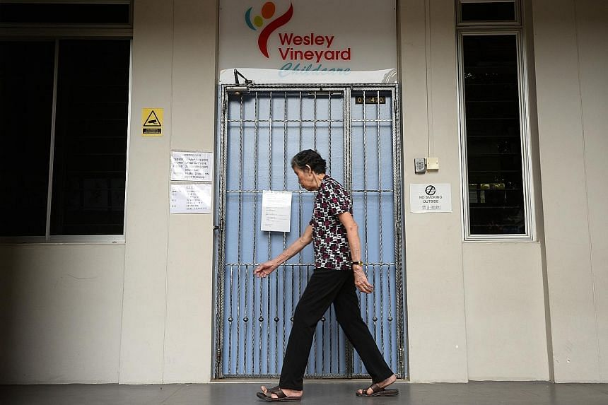 Wesley Vineyard Childcare in Serangoon North is one of three centres with clusters of prolonged HFMD transmission that are on the Ministry of Health watch list.