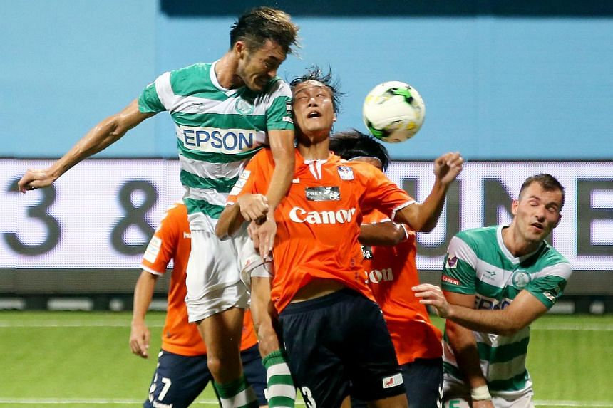 Albirex Niigata beat Geylang International 2-0 at Jalan Besar Stadium on Friday night.