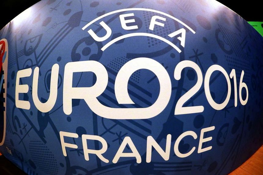 Logo for the upcoming Euro 2016 football championships.