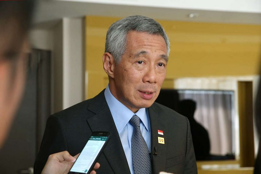PM Lee is positive about Russia's business potential, saying many opportunities exist for Singapore companies.
