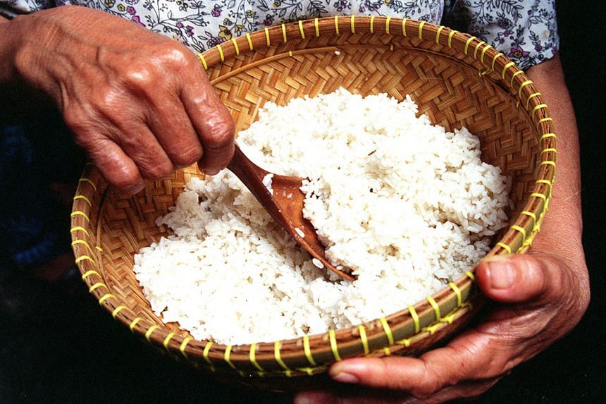 White rice has been targeted in the fight against diabetes.