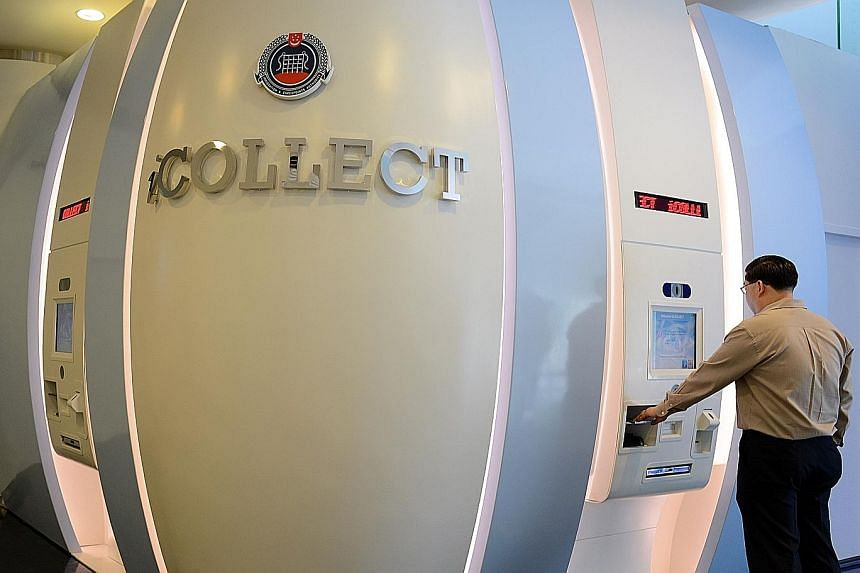 The iCollect self-service kiosk, located on the ground floor of the ICA Building, offers Singaporeans and foreigners one more option when they need to collect documents like biometric passports and identity cards.