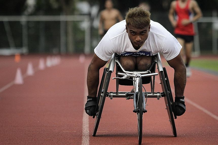 Firdaus Nordin competed in December's Asean Para Games despite having been arrested on drug charges in February last year. He finished eighth in the men's 100m T54 (wheelchair) final. In his plea, he said he took methamphetamine to help him get in sh