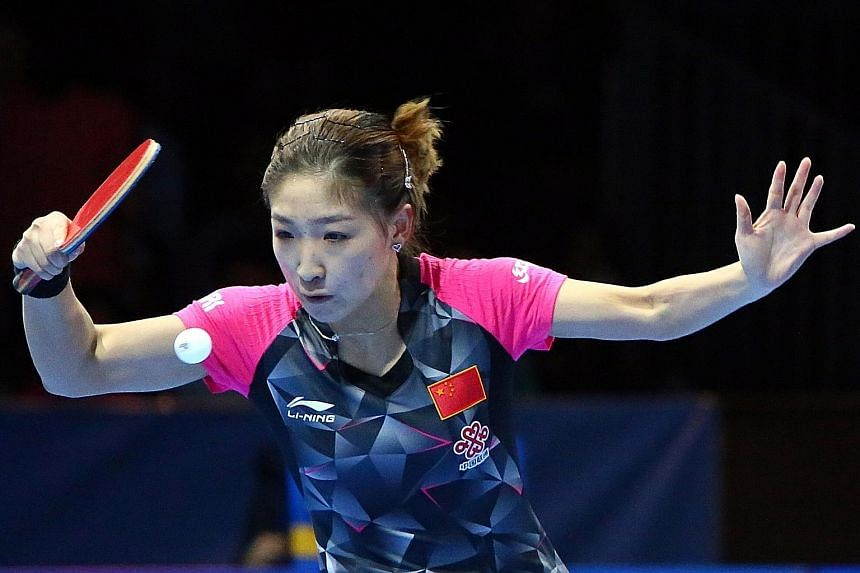 Top-ranked Liu Shiwen will play only in the Olympic team event, with Li Xiaoxia and Ding Ning. China preferred her two compatriots, who were the 2012 gold and silver medallist respectively, for the singles event. Among the men, Zhang Jike gets to def