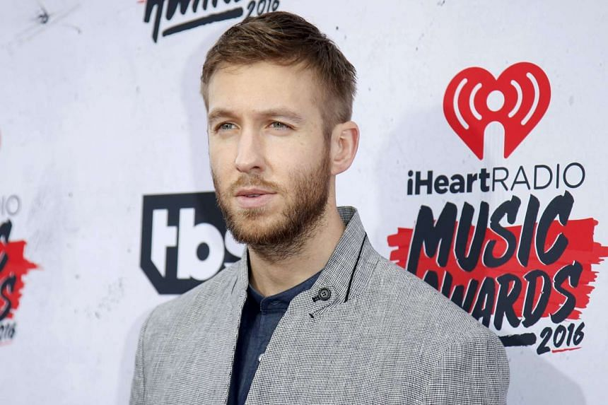 Calvin Harris at the iHeartRadio Music Awards in California on April 3, 2016.