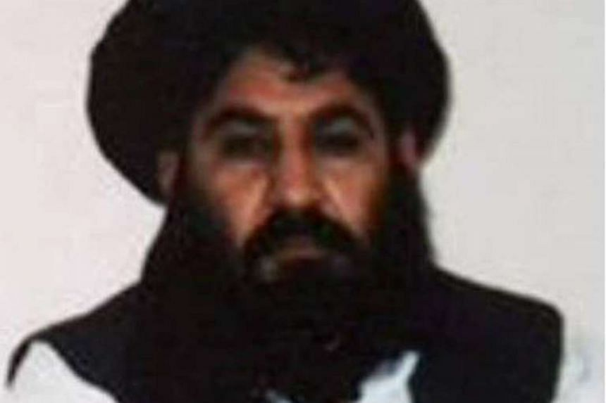 A cellphone photo released by the Afghan Taleban in 2015 is said to show leader Mullah Akhtar Mansour.