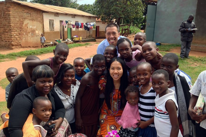 Ms Tam and her husband Cliff were in Uganda on a mission trip for a year. They returned to Singapore last June.
