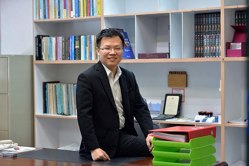 """Mr Lin, now 32, did not get any special treatment when he started helping out at the family business at the age of 13. """"I learnt a lot as I started working from the ground up. That got me really involved in the nuts and bolts and details of the compa"""