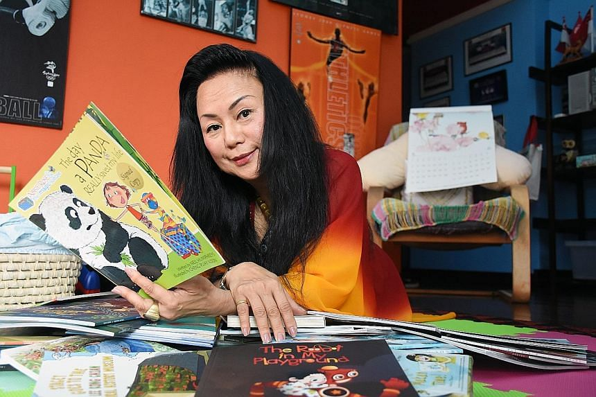 "Ms Chiang believes that technology for children under the age of three is a big no-no. She frowns upon parents who use videos on mobile phones to placate restless children. ""Don't buy them too many electronic toys, buy them books instead. Parents sho"